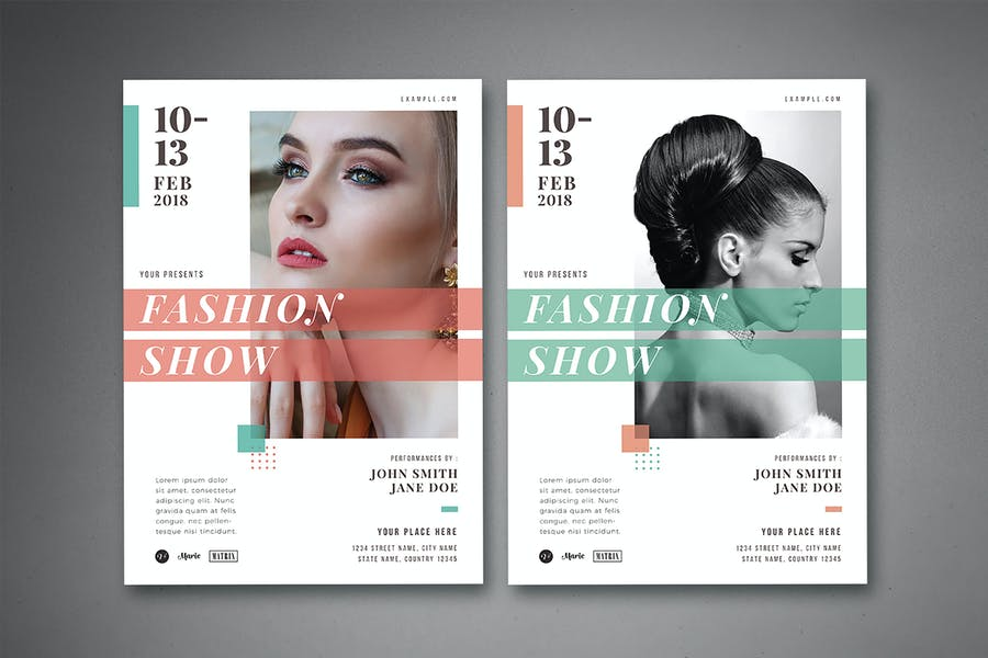 Elegant Fashion Show Flyer