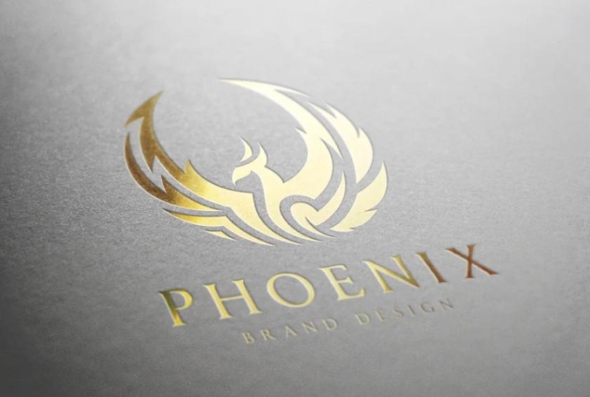 Elegant Flying Bird Logo