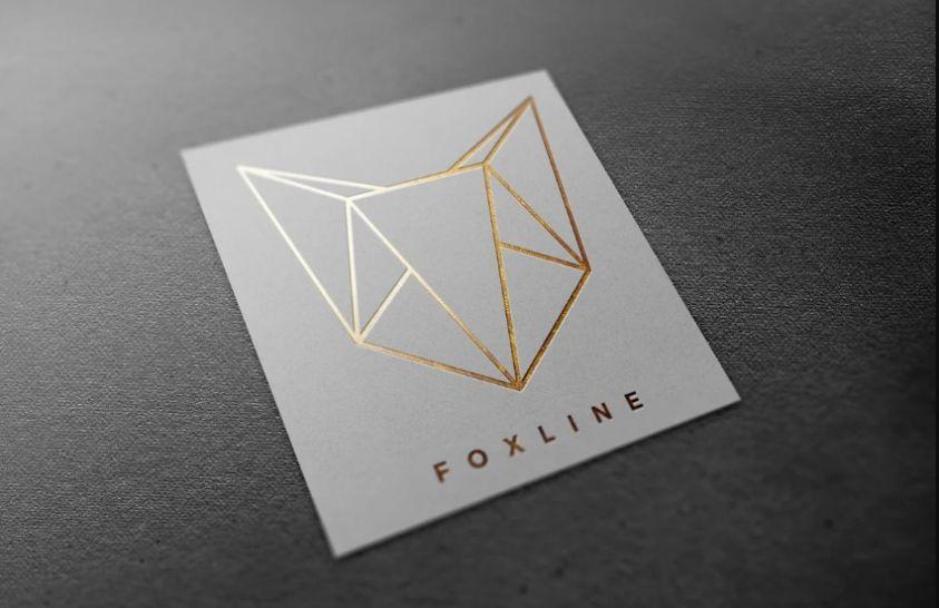 Elegant Fox Line Logo Design