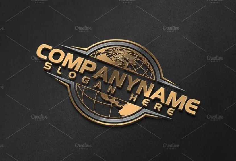 Elegant Global Company Logo Design