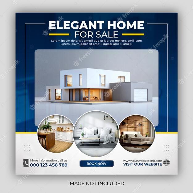 Elegant Real Estate Social Media Post