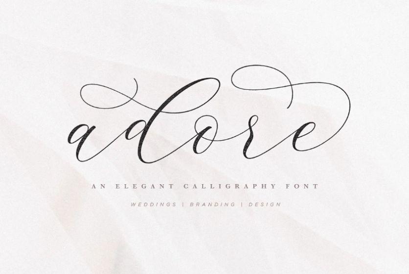 Elegant Swash Styled Fonts