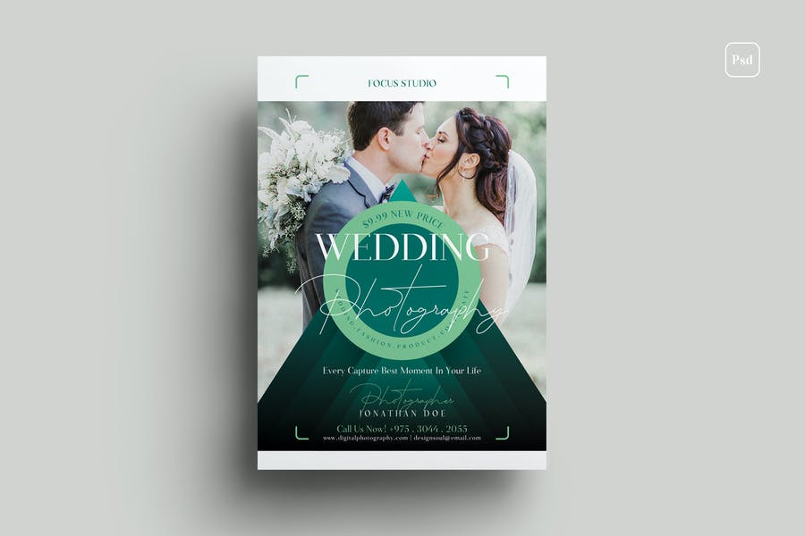 Elegant Wedding Phots Flyer