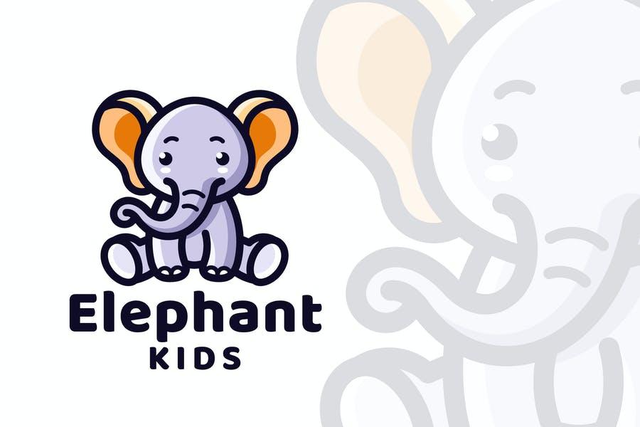 Elephant Kids Logo Design