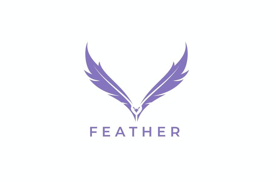 Falcon Style Logo Template