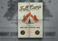 Camp flyer templates