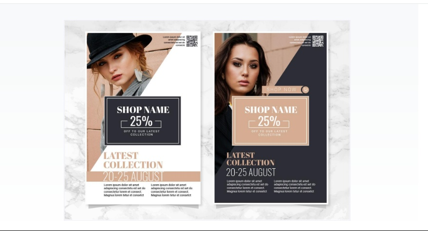 Fashion Event Flyer Template
