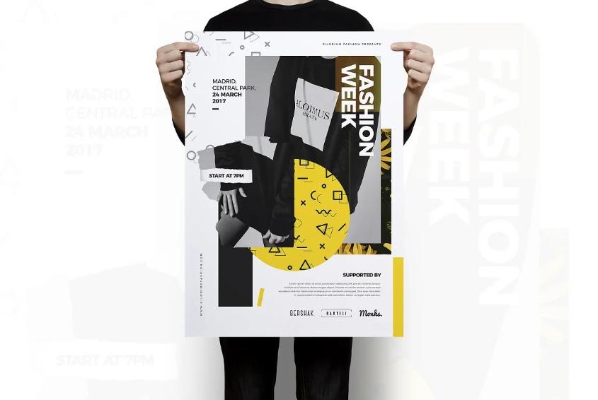 Fashion Marketing Flyer Template