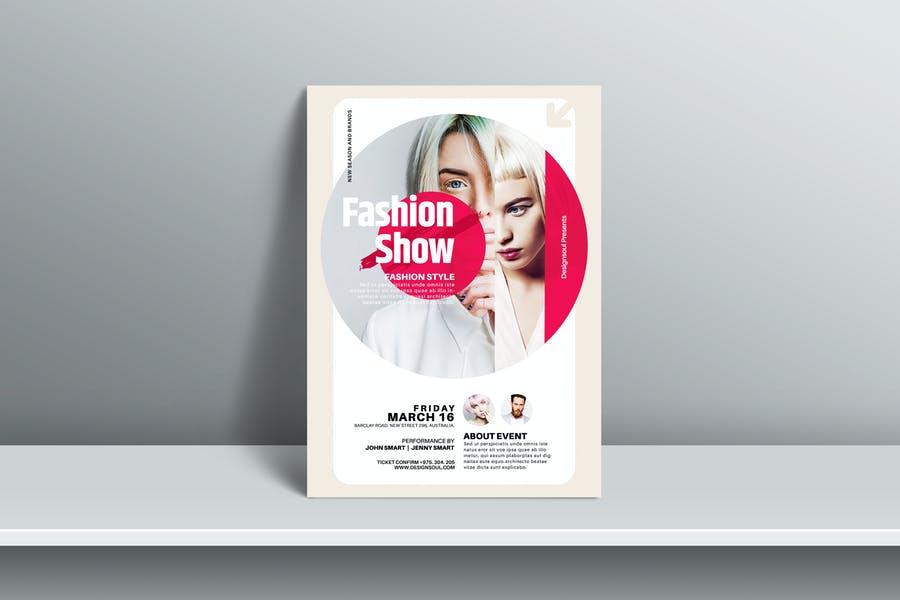 Fashion Week Poster Template