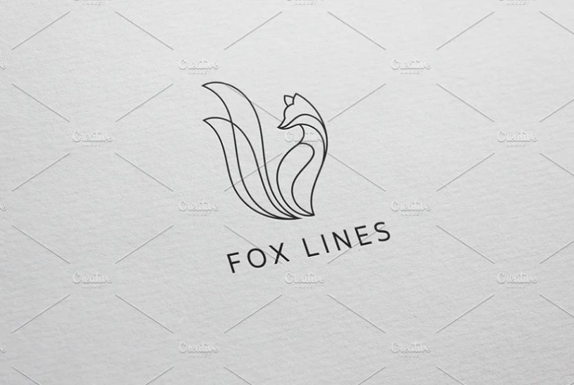 Feminine Fox Logo Designs