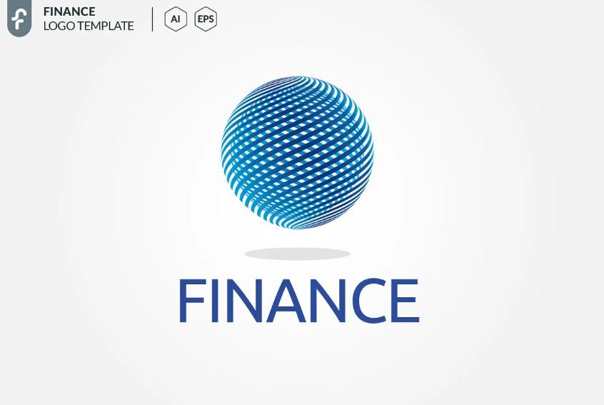 Finance Globe Logo Design