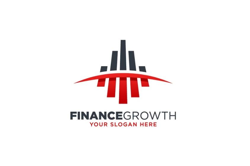 Finance Growth Logo Design