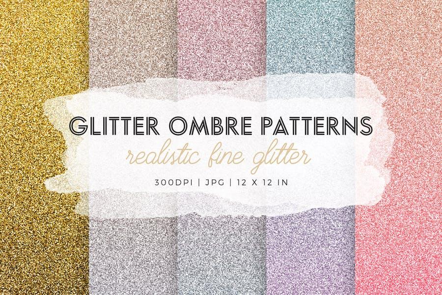 Fine Glitter Patterns