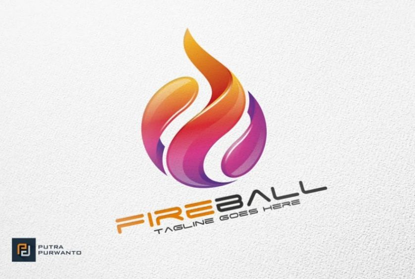 Fireball Style Branding Identity