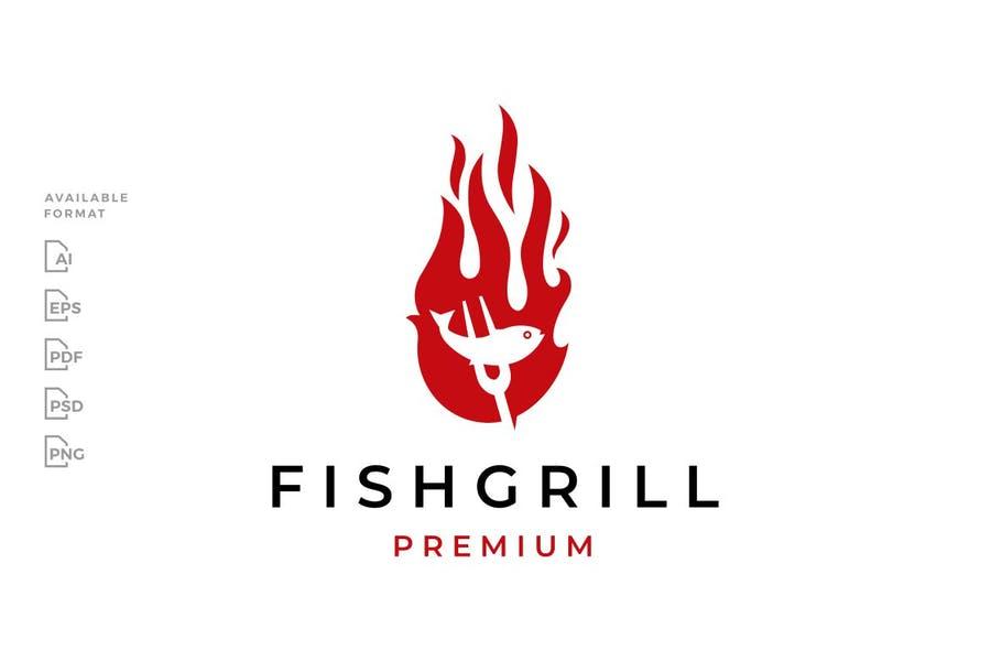 Fish on Fire Logo