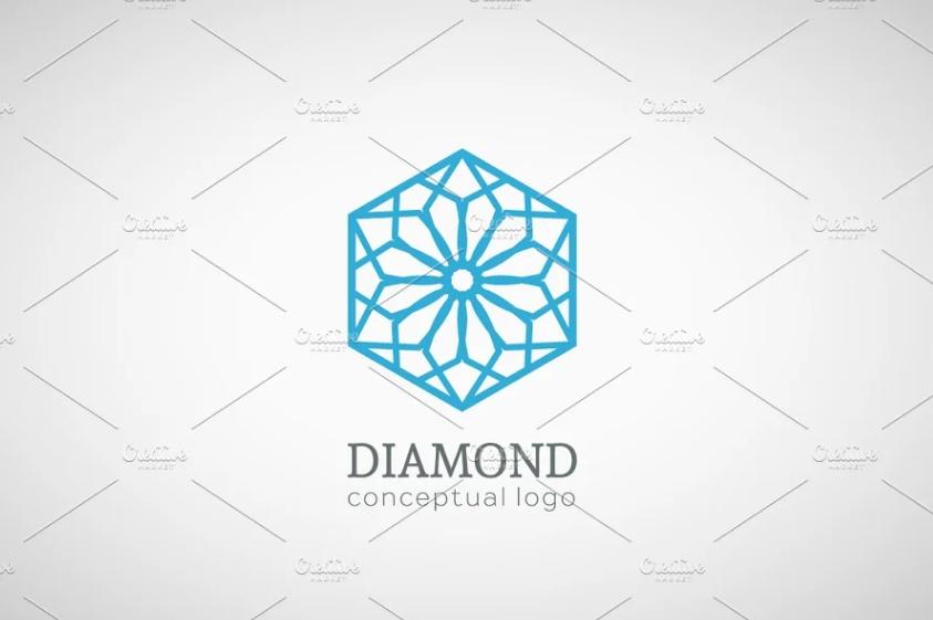 Floral Style Branding Logo Design