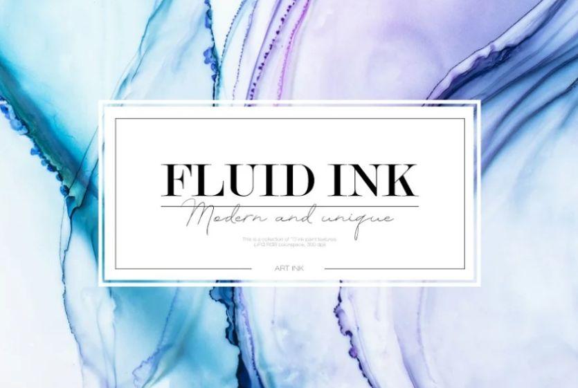 Fluid Ink Textures