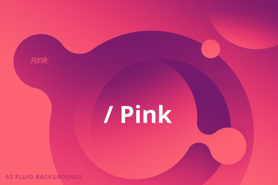 Fluid Style Pink Wallpapers