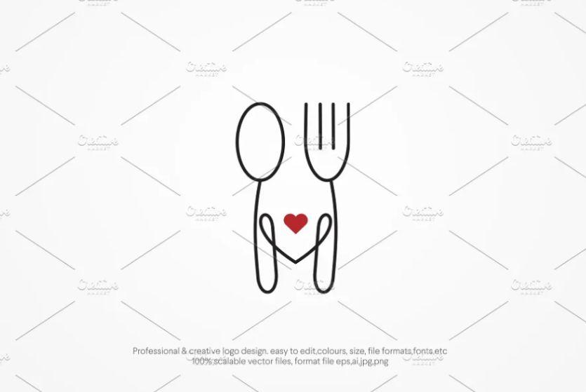 Foodie Logo Design Template