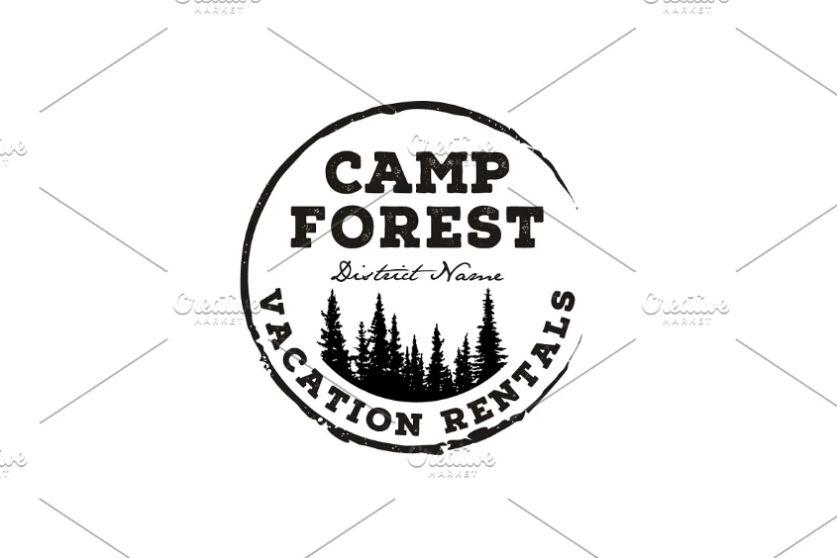 Forest Camp Logo Designs