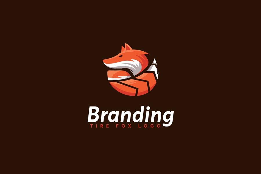 Fox Style Tire Logo Design