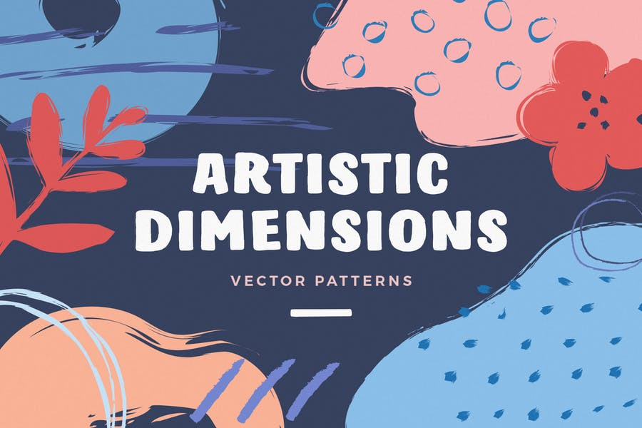 Free Abstract Vector pattern