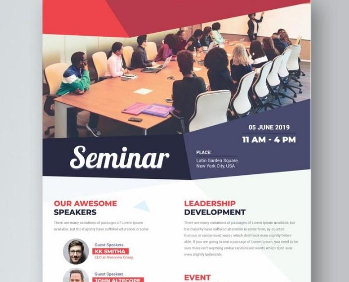 Free Ai Seminar Flyer Template