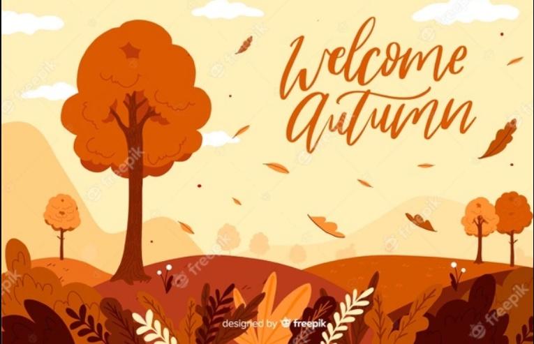Free Autumn Background Illustration
