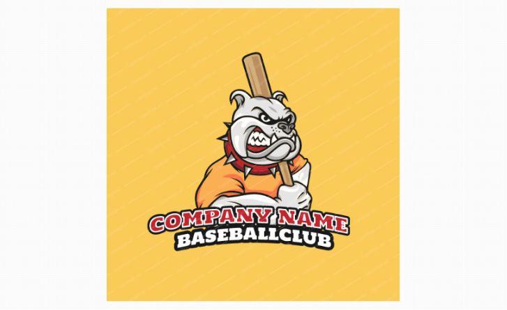 Free Baseball Club Logo