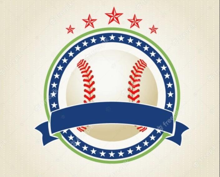 Free Baseball Emblem Design