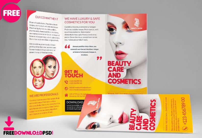 Free Beauty Salon Brochure