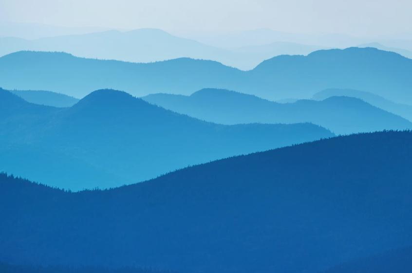 Free Blue Landscape Wallpaper