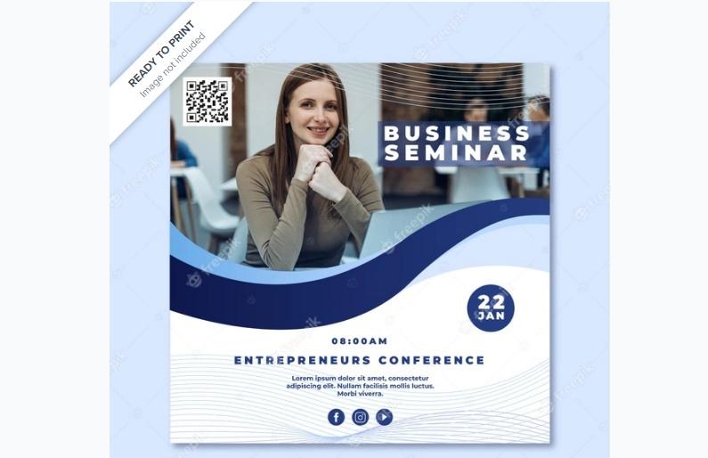 Free Business Seminar Flyers
