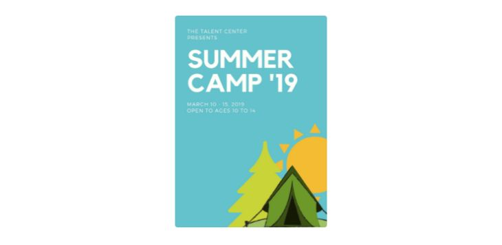 Free Camping Flyer Template