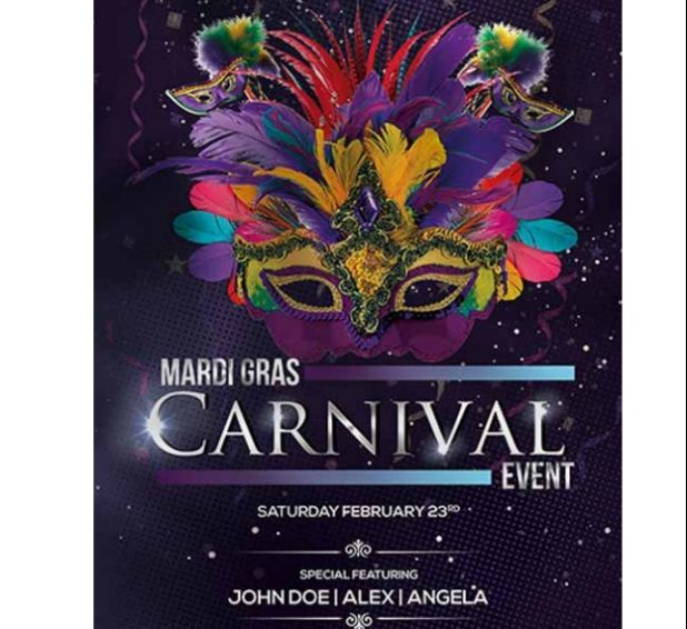 Free Carnival Event Flyer Template