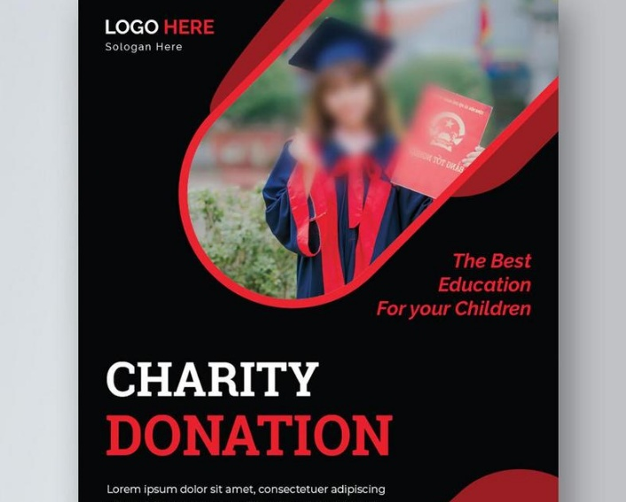Free Charity Donation Flyer
