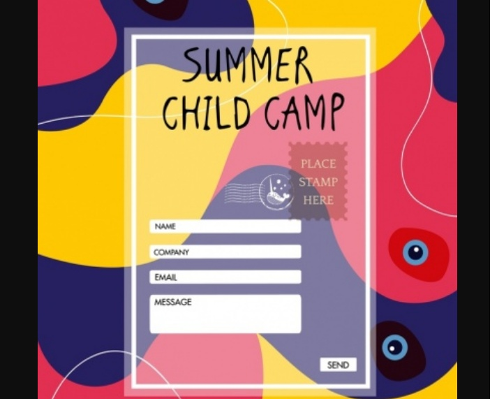 Free Child Camp Flyers