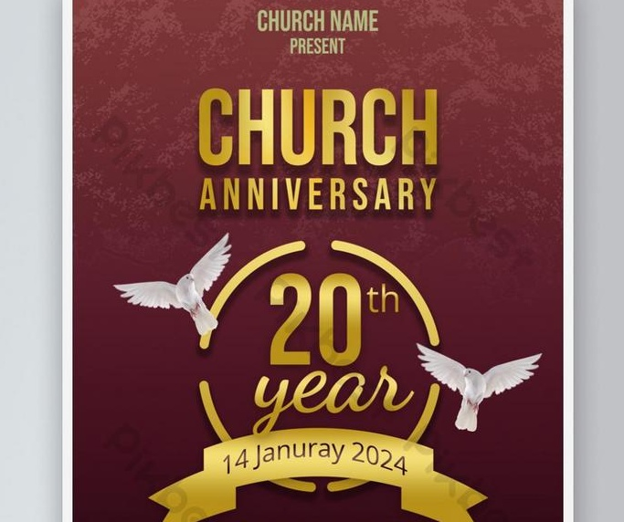 Free Churh Anniversary Flyer