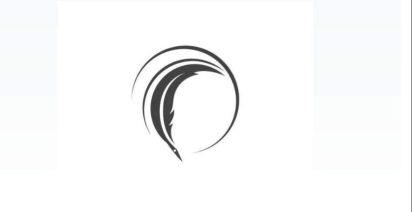 Free Circular Quill Logo