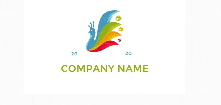 Free Colorful Bird Logo Design