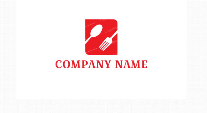 Free Creative Fork Logo Identity