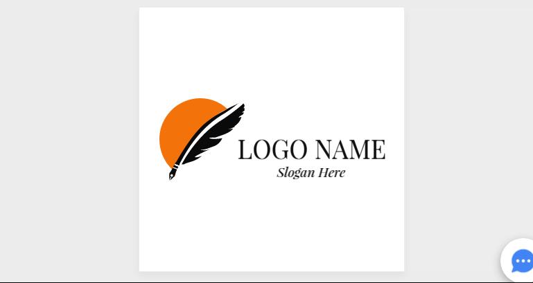 Free Customizable Feather Logo