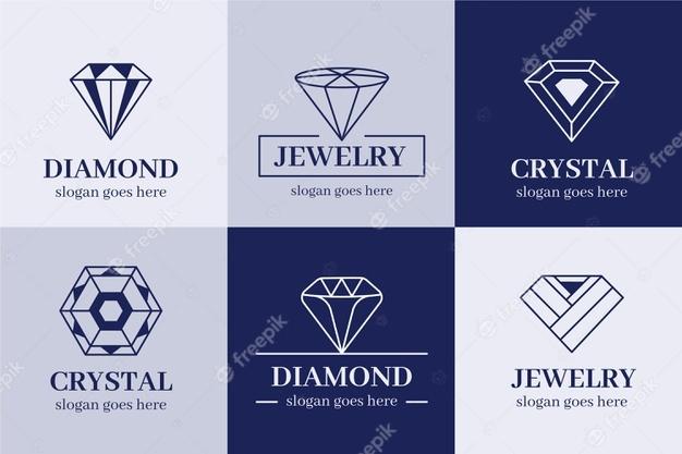 Free Diamond Logo Set
