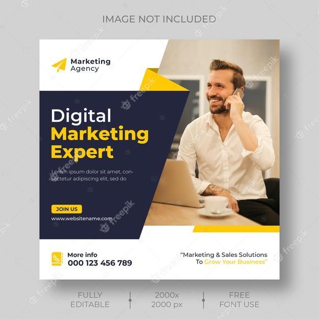 Free Digital Marketing Post Template