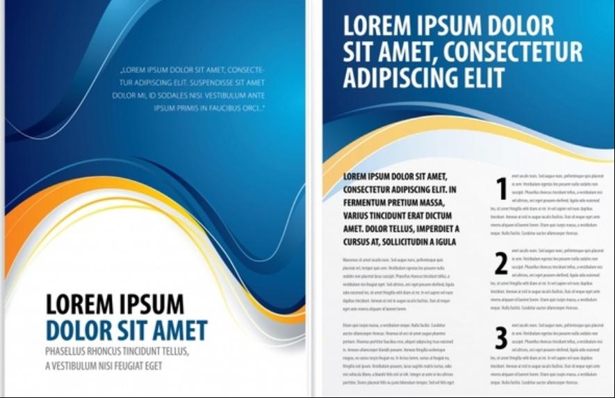 Free Elegant Brochure Template