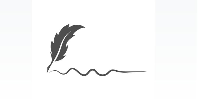 Free Feather Signature Logotype