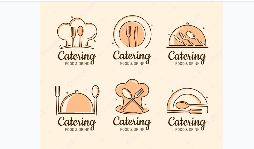 Free Food Catering Logo