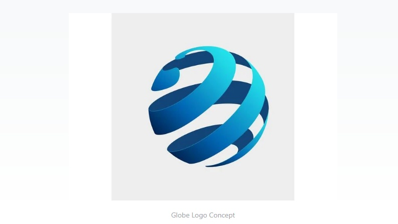 Free Globe Logo Template