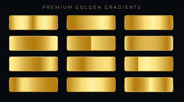 Free Golden Gradients
