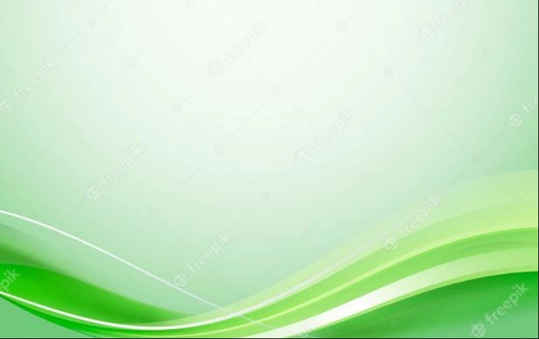 Free Green Curve Background